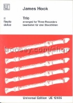 Trio For 3 Flutes (Descant, Treble & Tenor Recorder)