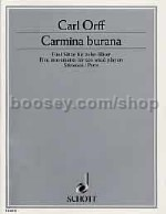 Carmina Burana (5 Pieces) For 10 Wind (parts)