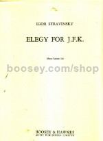Elegy For JFK