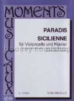 Sicilienne Vcl/Piano