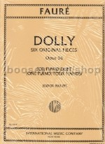 Dolly Suite Op. 56 Piano Duet
