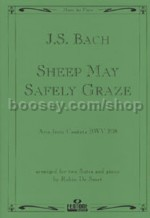 Sheep May Safely Graze 2 Flutes & Pno