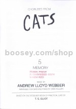 Memory (from Cats) (SATB)