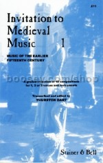 Invitation To Medieval Music 1