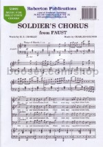 Soldiers Chorus From Faust TTBB