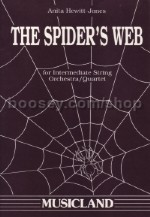 Spiders Web for Intermediate String Orchestra/Quartet