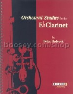 Orchestral Studies Eb Clarinet Hadcock