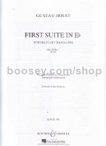 First Suite in Eb (Military Band Full Score)
