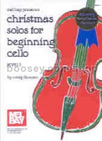 Christmas Solos Beginning Cello Level 1