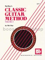 Mel Bay Classic Guitar Method vol.3 (Book & CD)