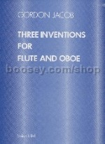 Inventions For Flute & Oboe