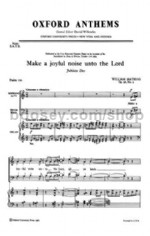 Make a Joyful Noise Unto the Lord Op. 26 No.2 SATB