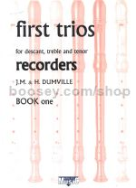 Kirklees First Book Of Recorder Trios D/T/T