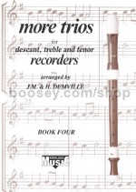 Kirklees Recorder Trios Book 4 More Trios