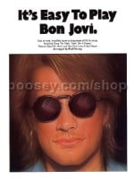 It's Easy to Play Bon Jovi (Easy Piano with Guitar Chords)