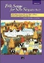 Folk Songs for Solo Singers 2 Medium/Low (Book Only)