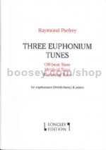 Three Euphonium Tunes (for Euphonium/Baritone & Piano) (bass/treble clef)