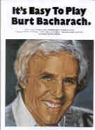 It's Easy to Play Burt Bacharach (Easy Piano with Guitar Chords)