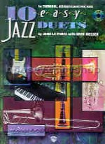 10 Easy Jazz Duets (Bass Clef instruments) Book & CD