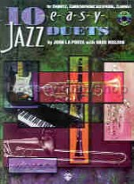 10 Easy Jazz Duets (Bb instruments) Book & CD