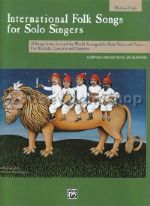 International Folk Songs for Solo Singers (Medium/High) (Book Only)