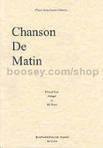 Chanson De Matin Op 15 No.2 (arr. string quartet) parts