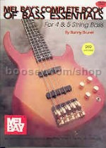 Complete Book of Bass Essentials (Book & DVD)