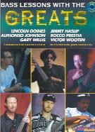 Bass Lessons With The Greats (Book & CD)