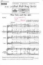 The Oak and the Ash for SATB