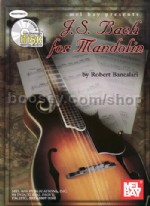 Bach For Mandolin (Book & CD)