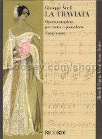 La Traviata Vocal Score (Italian/English Softcover)
