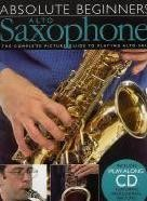 Absolute Beginners Alto Sax Picture Guide (Book & CD)