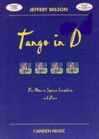 Tango in D for Oboe (or Bb Saxophone) & Piano