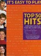 It's Easy to Play Top 50 Hits 4 (Easy Piano with Guitar Chords)