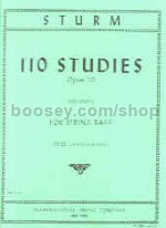 110 Studies, Opus 20: Vol. 1 - double bass