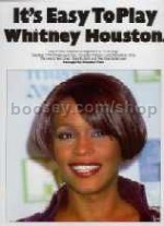 It's Easy to Play Whitney Houston (Easy Piano with Guitar Chords)
