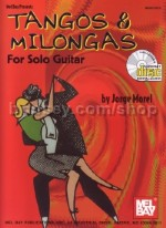 Tangos & Milongas guitar jorge Morel (Book & CD)