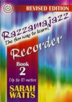 Razzamajazz for Recorder Book 2 (Book & CD)