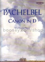 Pachelbel Canon in D (Violin & Piano)