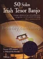50 Solos For Irish Tenor Banjo (Book & CD)