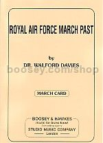 Royal Air Force March Past (Brass Band) (March Card Set)