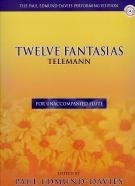 12 Fantasias for Flute Solo (Book & CD)