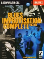 Blues Improvisation Complete C Bass (Book & CD)