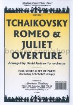 Romeo & Juliet Fantasy Overture Orch Set