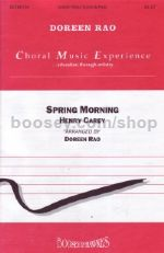 Spring Morning - choral unison & piano