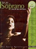 Arias for Soprano Vol.1 (Cantolopera) (Book & CD)