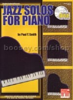 Jazz Solos For Piano (Book & CD)
