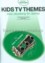 Junior Guest Spot: Kids TV Themes - Clarinet (Bk & CD) Guest Spot series