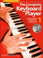 Complete Keyboard Player: Book 1 With CD Revised Edition (Complete Keyboard Player series)