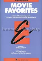 Essential Elements Folio: Movie Favorites - Keyboard Percussion